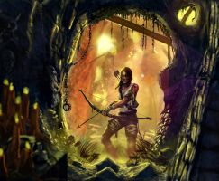 Tomb Raider by jakeandersonstudio