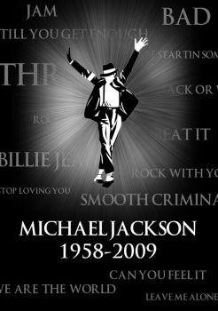 Michael Jackson 1958-2009 by WordLife316