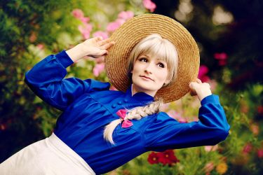 Howl's Moving Castle - Straw Hat by aco-rea