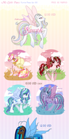 Adopts - MLP Flutterponies [SOLD!] by Beedalee-Art