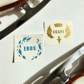 Eros and Agape Decals by Hedemi
