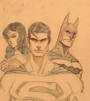 DC Trio by MikeVanOrden