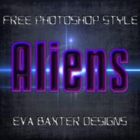 EVA BAXTER DESIGNS -- ALIEN STYLE FREEBIE by EvaTakesNoPrisoners