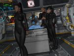 Black Widows Pilots Briefing.. Delta Aquilae by StalinDC
