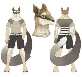 Numbat Guy by muffin-wrangler