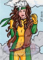 Rogue Sketch Card 2 by ElainePerna