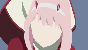 Darling in the franxx minimalist by iceycoldxp