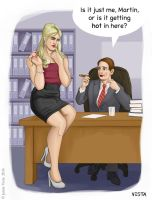 Hot under the collar by Eves-Rib