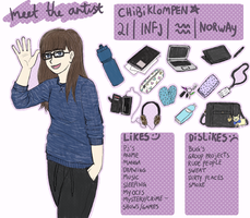 #meet the artist by Chibiklompen