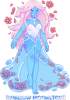 [CLOSED] Rainbow Moonstone Auction by AngelDracon