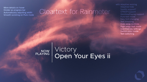 Cleartext for Rainmeter [v5.2 | 13/Feb/2019] by Redsaph