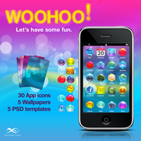 Woohoo - iPhone Theme by anekdamian