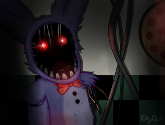 Withered Bonnie by KittyOLM