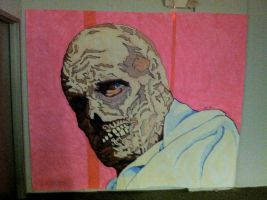 Phibes Unmasked by monsterartist
