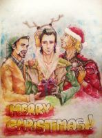 Merry Christmas Loki by M-Asami-the-szilf