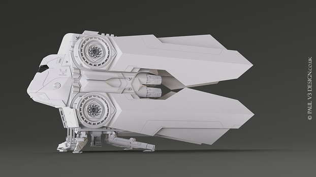 SpaceCraft Cruizer update 09 by PaulV3Design