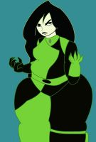 Fat Shego is angry by solnanIII