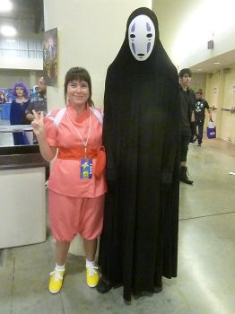 Supercon '17: Chihiro Ogino and No-Face by NaturesRose