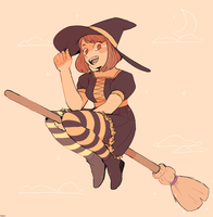 witch ochako by destroymuse