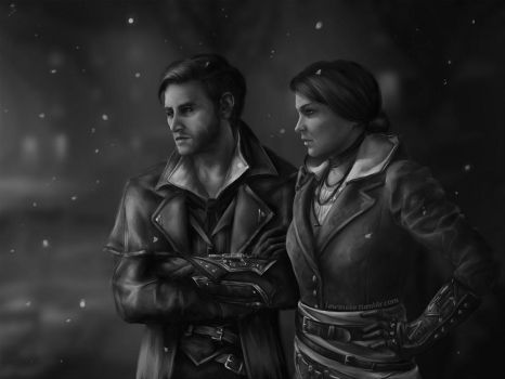 Frye Twins JTR by the-frozen-bunny