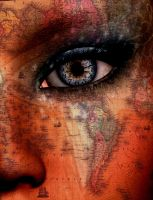 Surreal Map and Face by SolomonBarroa