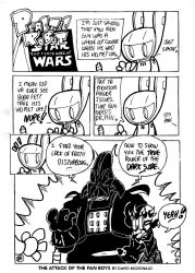 The Attack Of The Fan Boys by PLASTIC-ROBOT-COMIC