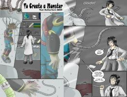 To Create a Monster - Pg 1 and 2 by tcat
