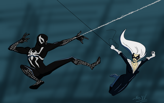 The Spider and the Cat 4. by NoXV