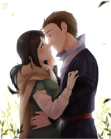 morning kiss by meago