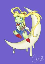 Zombie Sailor Moon by OphanimGothique