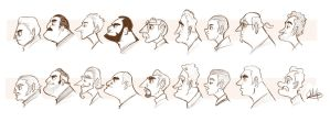 Character Profile Study by LuigiL