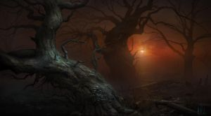 trees by H-i-ll