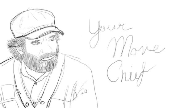 Your Move Chief Sketch by 21giants