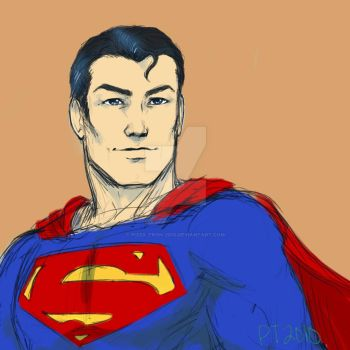 Superman by pizza-tron-2010