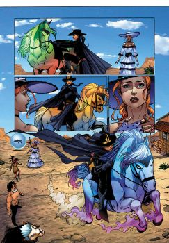 The Legend of Oz: The Wicked West by FlashColorist