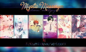 { PACK } Mystic Messenger [ Phone wallpaper ] by lKoizumil