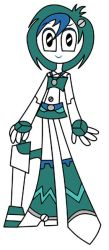 Teenage Robot OC- DJ by XJ-0