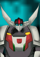 Colored Wheeljack by xoes