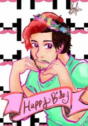 It's Markplier birthday!! by yukichan2606