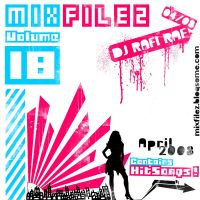 Mixfilez Vol.18 Front Cover by rafmaister