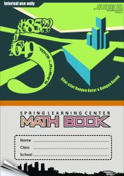 Cover of Math Book in Spring Learning Center by mumu145
