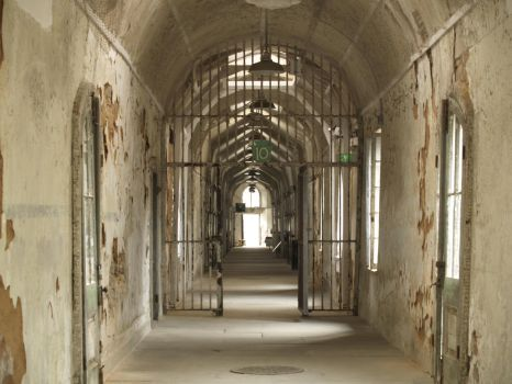 Eastern State Penitentiary 1 by Dracoart-Stock