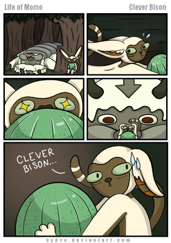 Clever Bison (Life of Ry Contest Entry) by SydVC