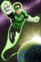 Green Lantern pg5 Colors by Brian-Robertson