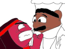Chef pee pee and... Ruby by APJSketch