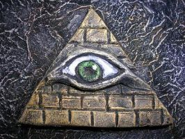 Eye in the Pyramid by askoi