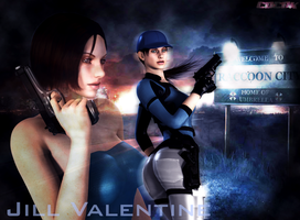 JIll Valentine by Cdcnk3D