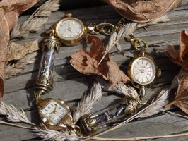 Steampunk fairy bracelet by Hiddendemon-666