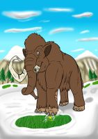 Broken Tusk the Woolly Mammoth by tombola1993