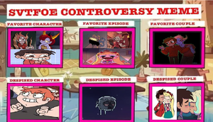Star Vs The Forces of Evil Controversy Meme by Lovelyluly